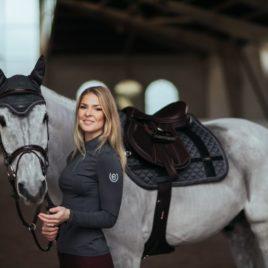 Equestrian Stockholm Silver Cloud UV Top