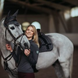Equestrian Stockholm No Boundaries Silver Cloud Ear Net