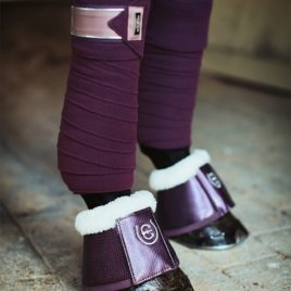Equestrian Stockholm Orchid Bloom Bell Boots