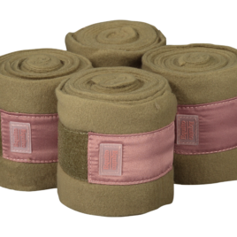 Equito Olive Blush Fleece Bandages