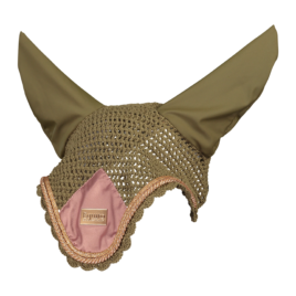 Equito Olive Blush Ear Bonnet