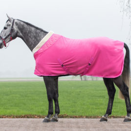 QHP Brilliance Fleece Rug