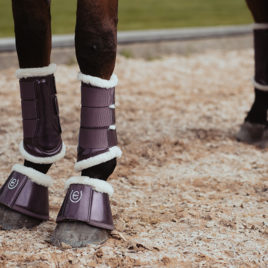 Equestrian Stockholm Orchid Bloom Brushing Boots