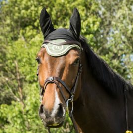 Back on Track Nights Collection Olive Green Bonnet