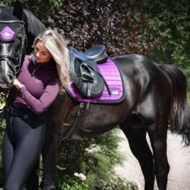 Equito Vivid Viola Saddle Pad