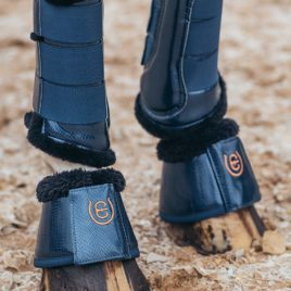 Equestrian Stockholm Monaco Blue Bell Boots