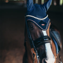 Equestrian Stockholm Monaco Blue Ear Net
