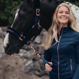 Equestrian Stockholm Monaco Blue Active Performance Jacket